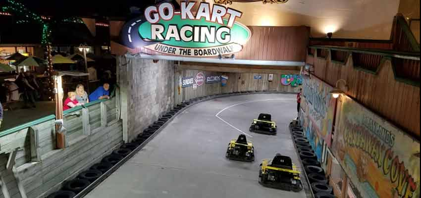 new jersey seaside go-kart racing