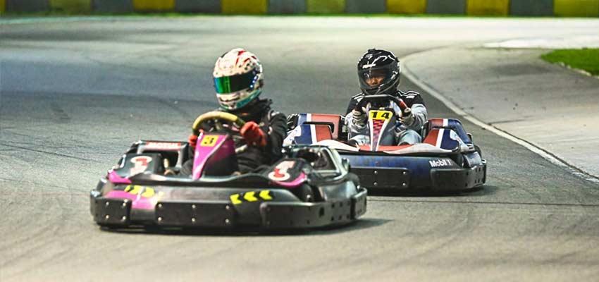 KF1 arena singapore go karting