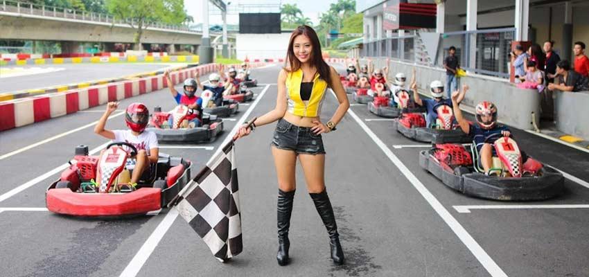 kf1 karting circuit singapore go karting kranji