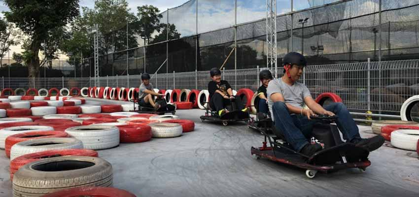 singapore maximum drift karting arena