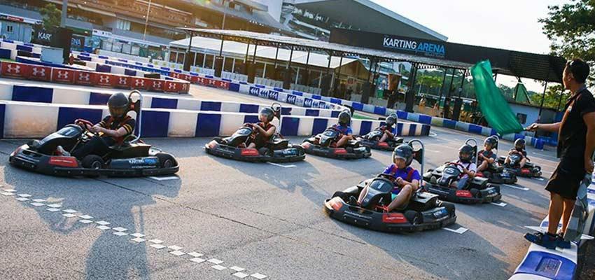 the karting arena singapore go karting