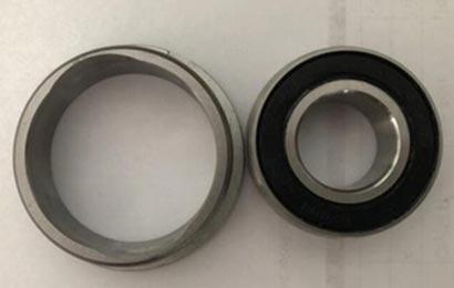 faulty go-kart bearings