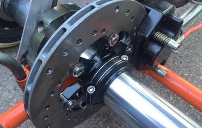 binding go-kart brakes
