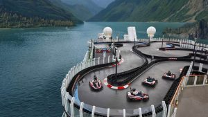 A Cruise Ship With Go-Karts Norwegian Cruise Line