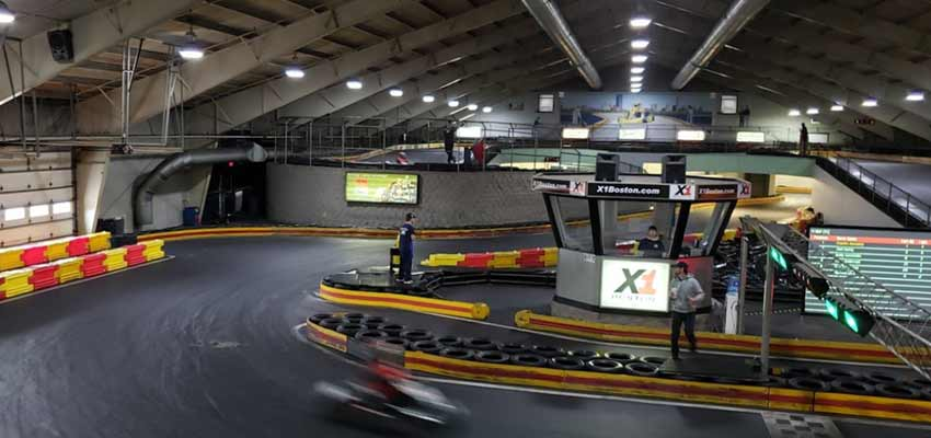 x1 boston go karting