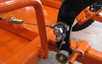 throttle cable installation