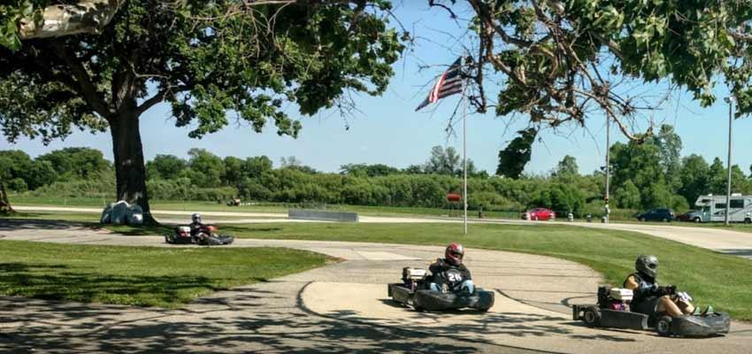 wisconsin sugar river raceway go-karting track