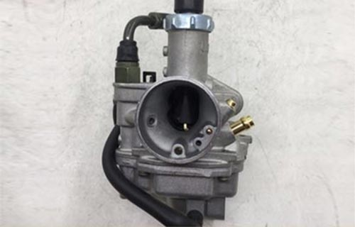 clogged or damaged go-kart carburetor