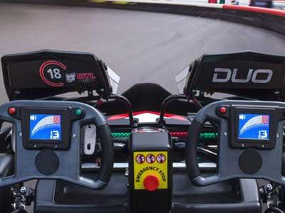 dual steering go-kart