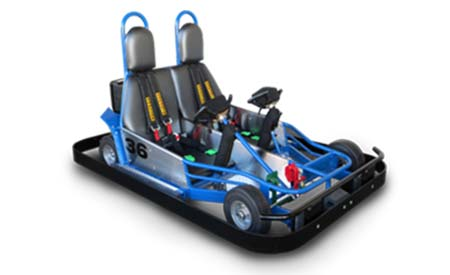 shaller two-seater go kart