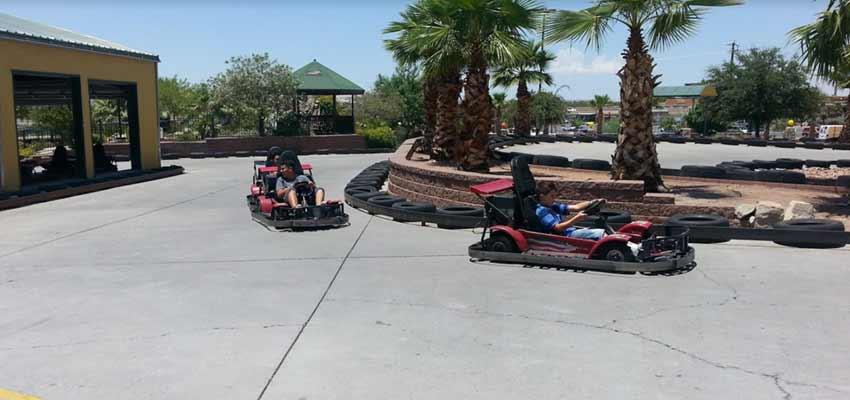 Bob-O's Family Fun Center go karting