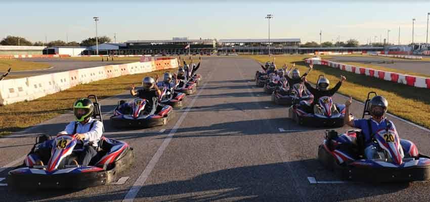 orlando kart center go kart racing