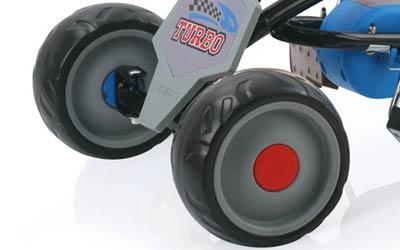 pedal go-kart eva tires