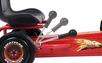 pedal go-kart with handbrake