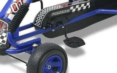 pedal go-kart pedal brakes