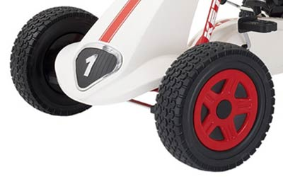 pedal go-kart rubber tires