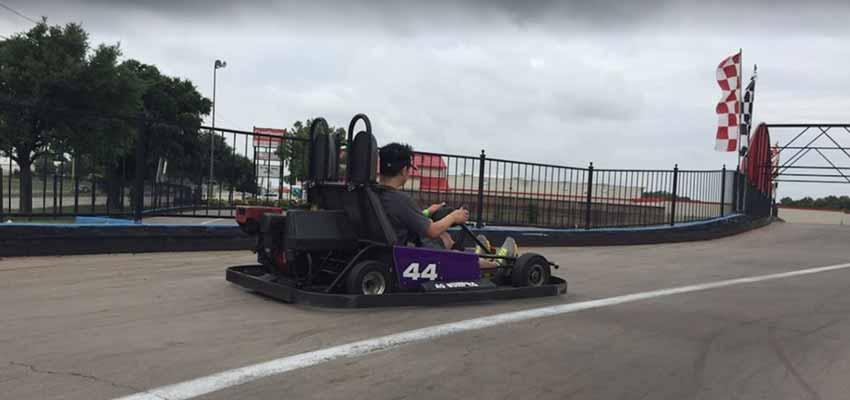 dallas adventure speedway go karting
