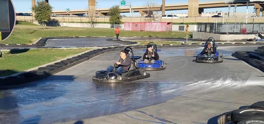 SpeedZone Dallas go-karting