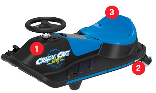 Razor Crazy Cart Shift build quality