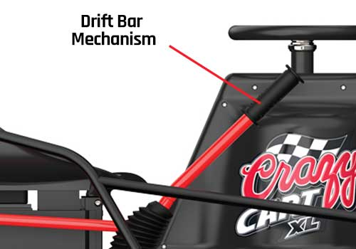 razor craft cart xl drift bar