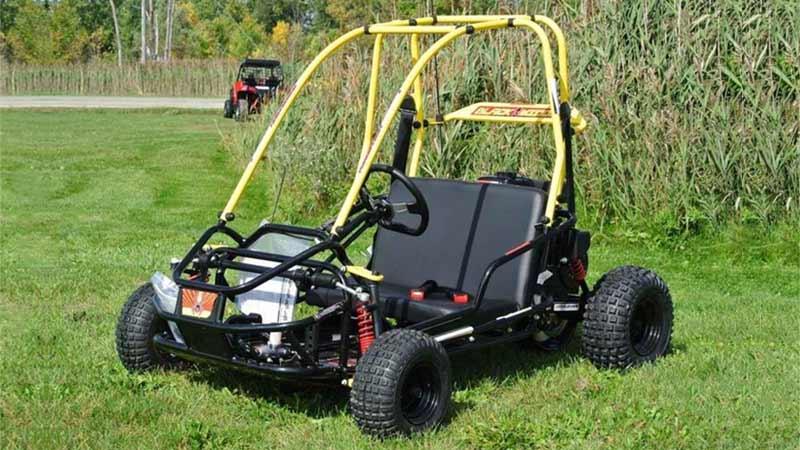 black widow go-kart parts