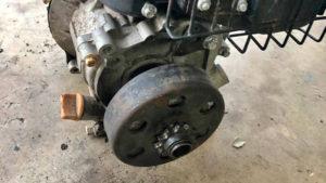 how to fix a go-kart clutch