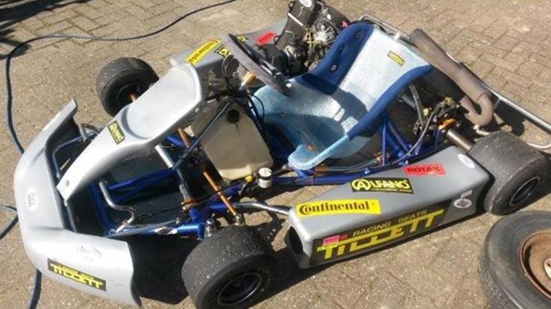 Go-Kart Die When You Hit Gas