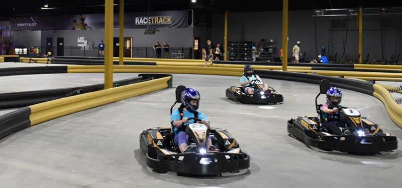 Amp Up Action Park missouri karting