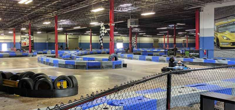 Go-karting at Music City Indoor Karting