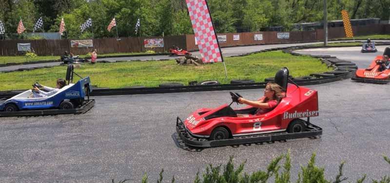 family fun center go-kart track