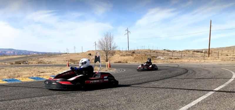 Grand Junction Motor Speedway go-kart racing track