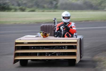 couch go-kart