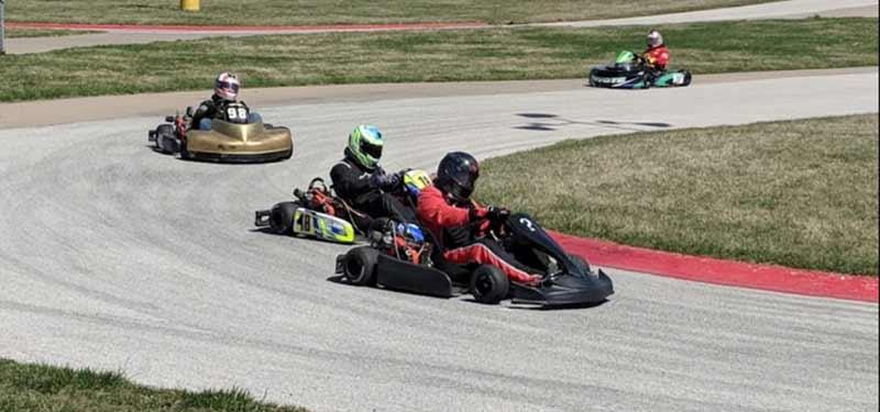 61 kartway iowa go-kart racing