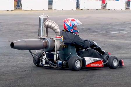 jet-powered kart