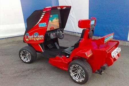 sega outrun go-kart