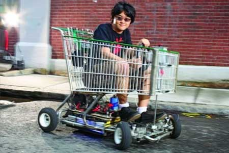 Shopping Cart Go-Kart