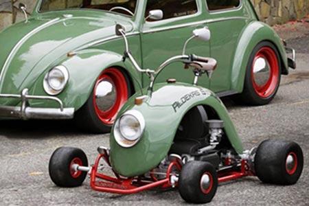 vw beetle go-kart