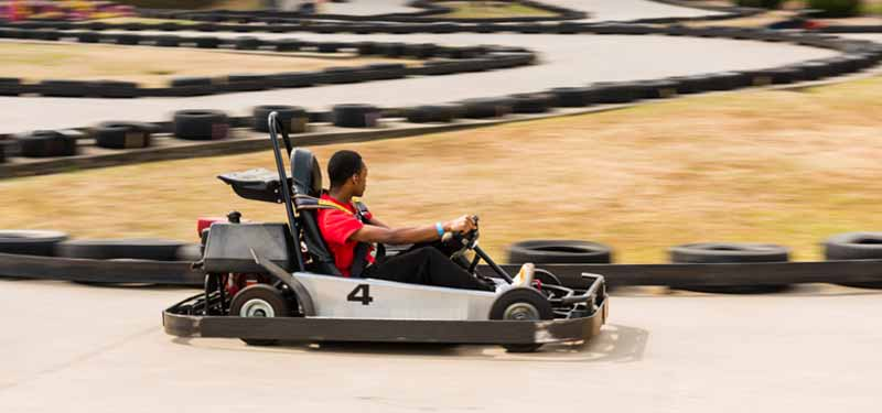 Big Rock Mini Golf & Fun Park go kart racing