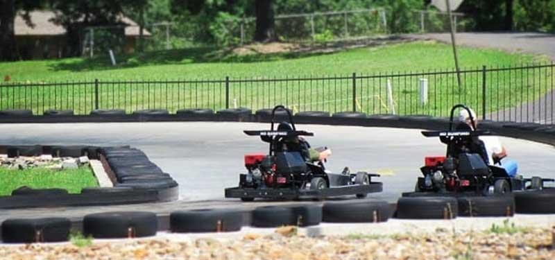 arkansas funtrackers go-kart racing