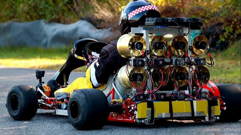 daymak C5 Blast the fastest go-kart in the world