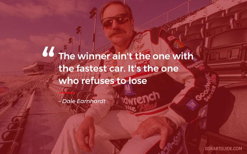 dale earnhardt racing quote