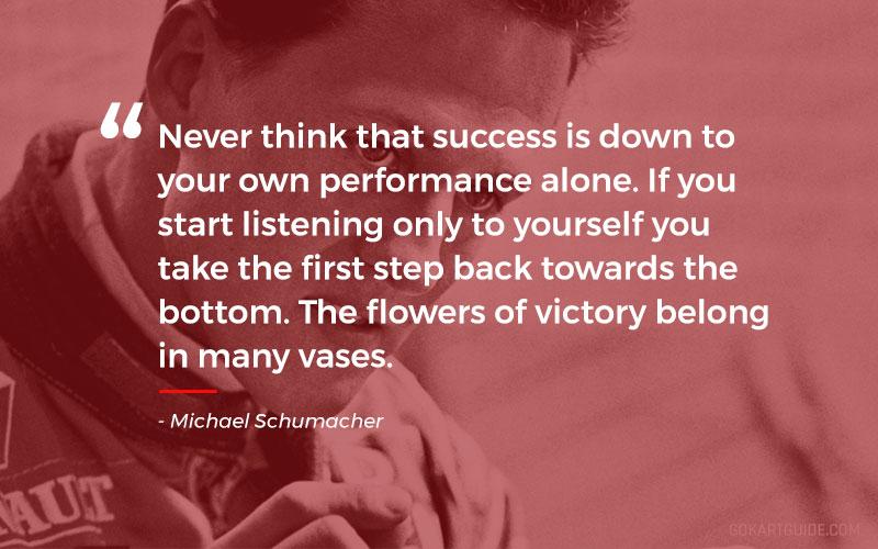 michael schumacher quote