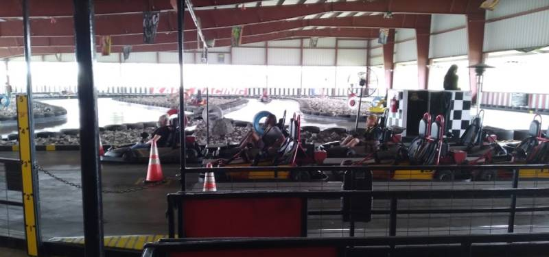 cajun fast track go-kart racing