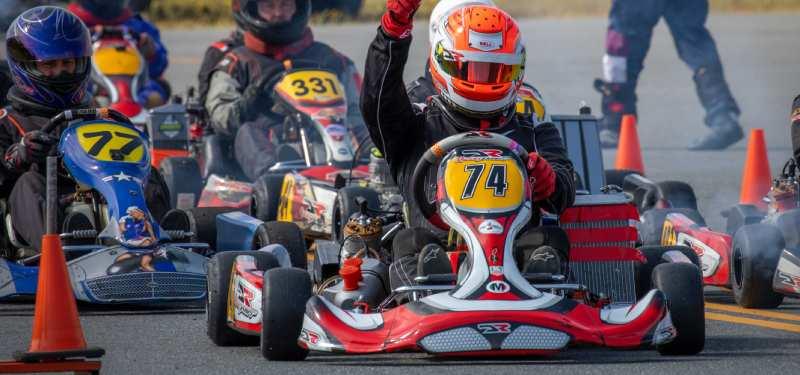new Hampshire nhka go-kart racing