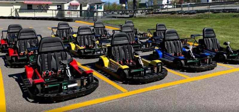 Weirs Beach Go Kart Track new hampshire