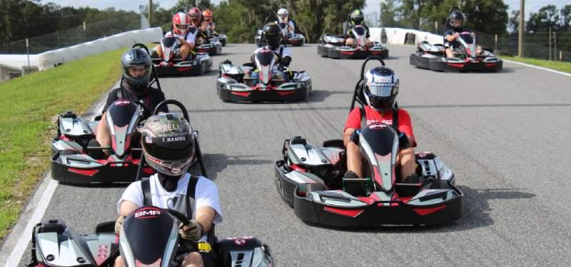 Bushnell Motorsports Park Florida go karting