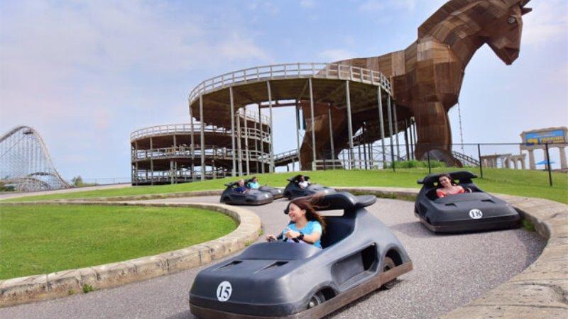 go-karting in Wisconsin dells best tracks