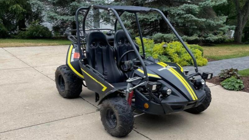 Hammerhead GTS 150 go-kart parts