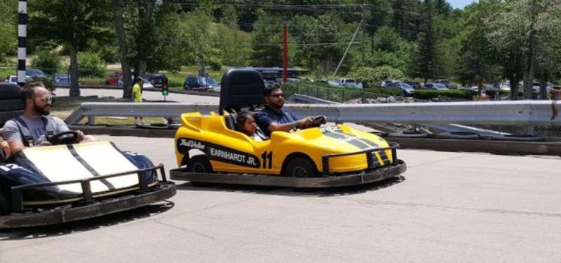 Mel's Funway Park go-karting new hampshire