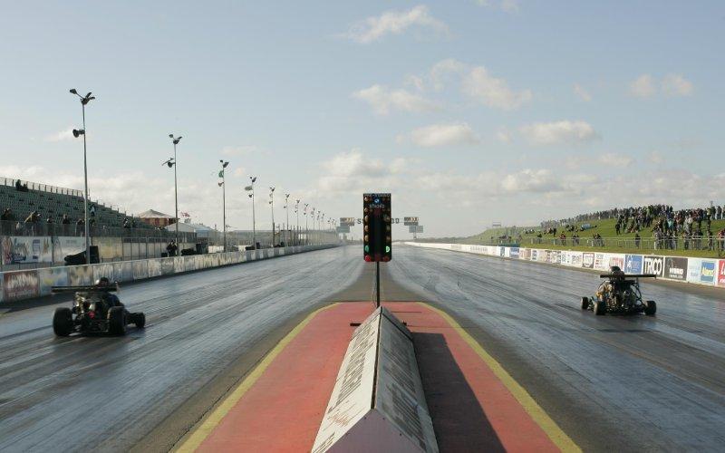 Santa Pod Raceway go-karts